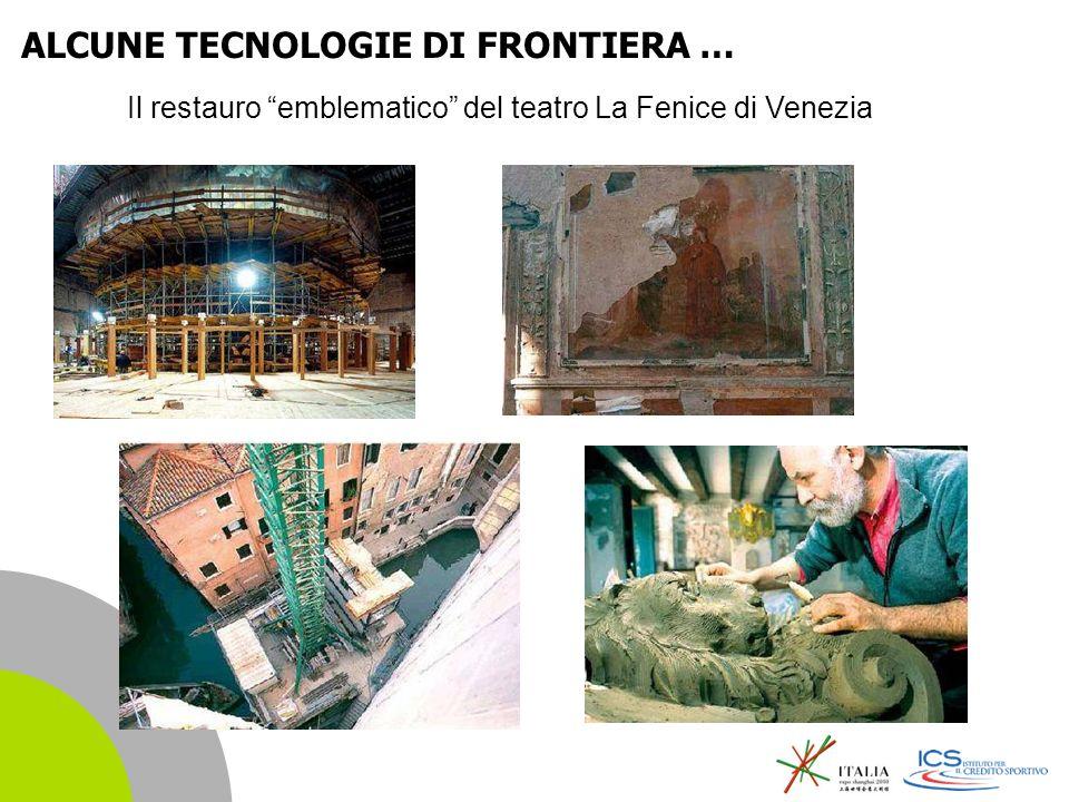 | 16 Il restauro emblematico del teatro La Fenice di Venezia ALCUNE TECNOLOGIE DI FRONTIERA …