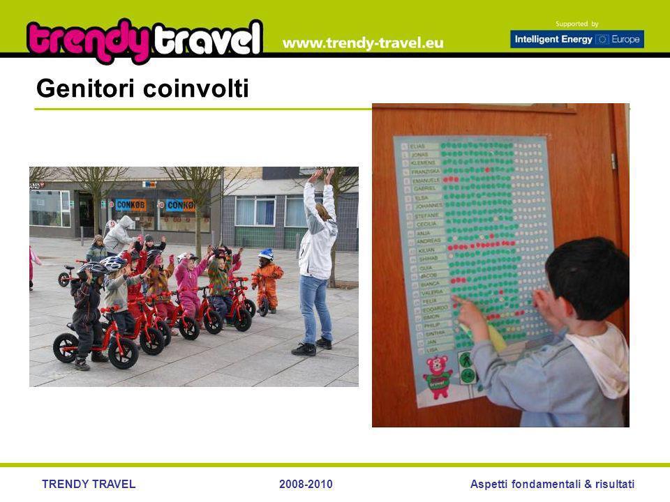 Aspetti fondamentali & risultatiTRENDY TRAVEL2008-2010 Genitori coinvolti
