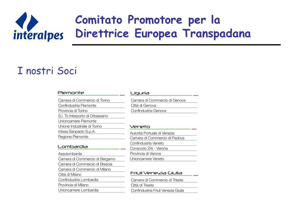 Comitato Promotore per la Direttrice Europea Transpadana I nostri Soci