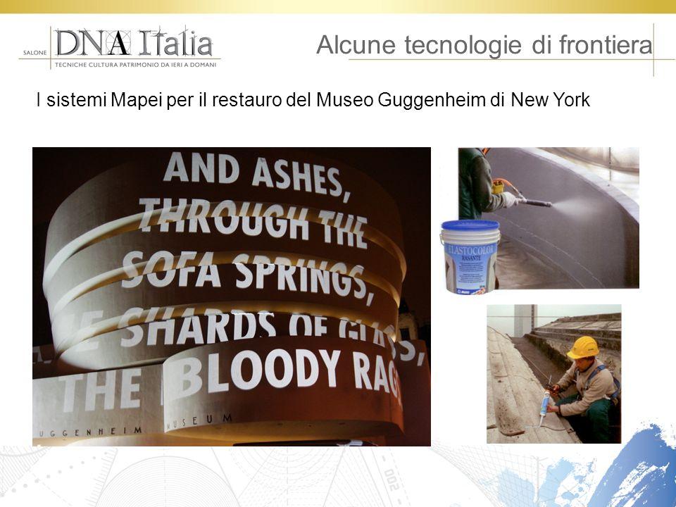 Alcune tecnologie di frontiera I sistemi Mapei per il restauro del Museo Guggenheim di New York