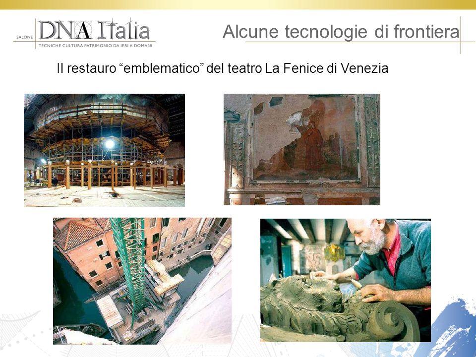 Alcune tecnologie di frontiera Il restauro emblematico del teatro La Fenice di Venezia