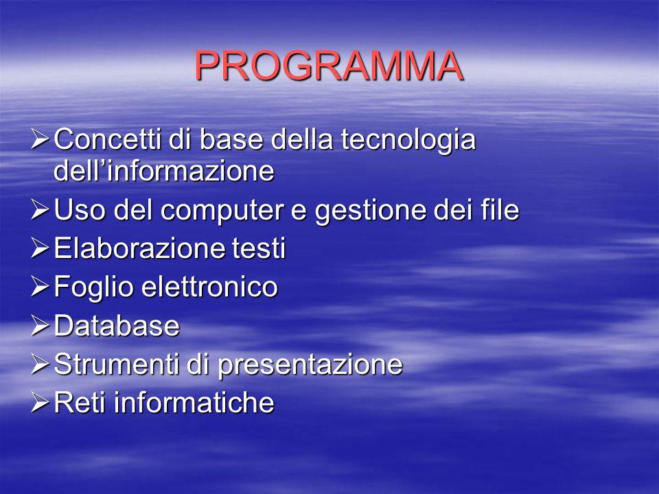 TECNOLGIA E MULTIMEDIALITA IN AMBIENTE SCUOLA N.2 I partecipanti al corso sono n.