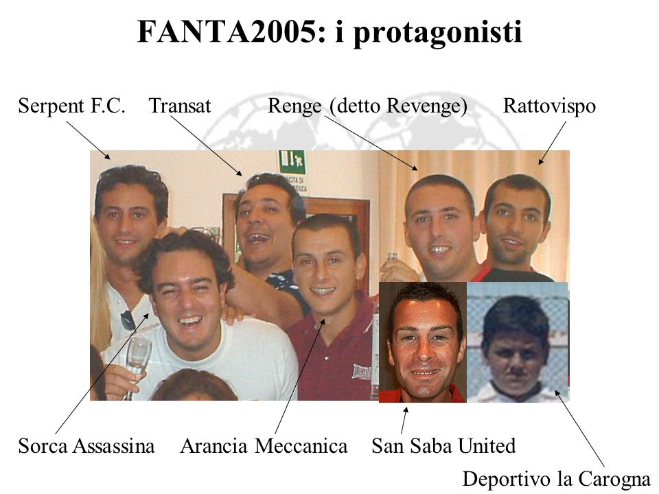 FANTA2005: i protagonisti Serpent F.C.