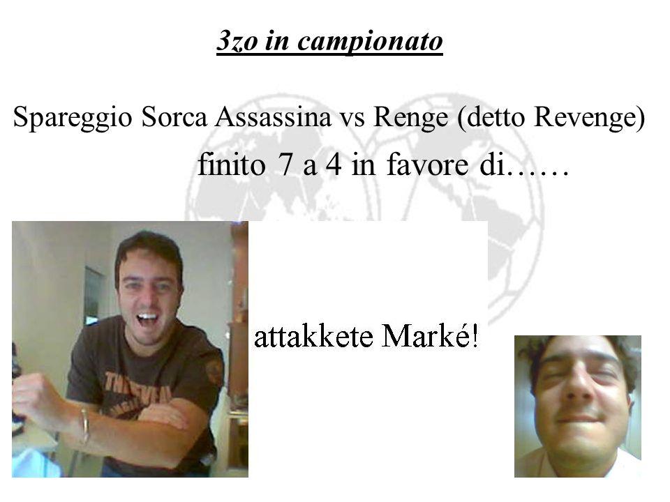 Penalità retroCESSI Leriuccio so 8 rikki euro!!! e dopo lo spareggio Serpent F.C. vs Arancia Meccanica…..cara pippa pure pe te so 8 euro!!!