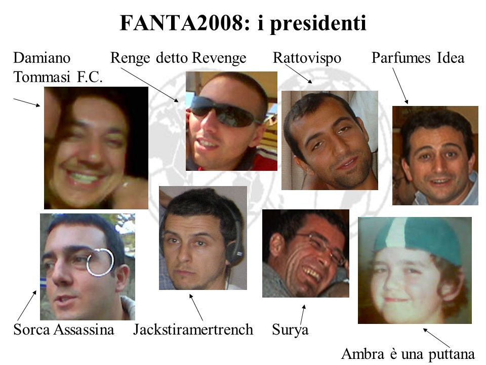 FANTA2008: i presidenti DamianoRenge detto Revenge Rattovispo Parfumes Idea Tommasi F.C.