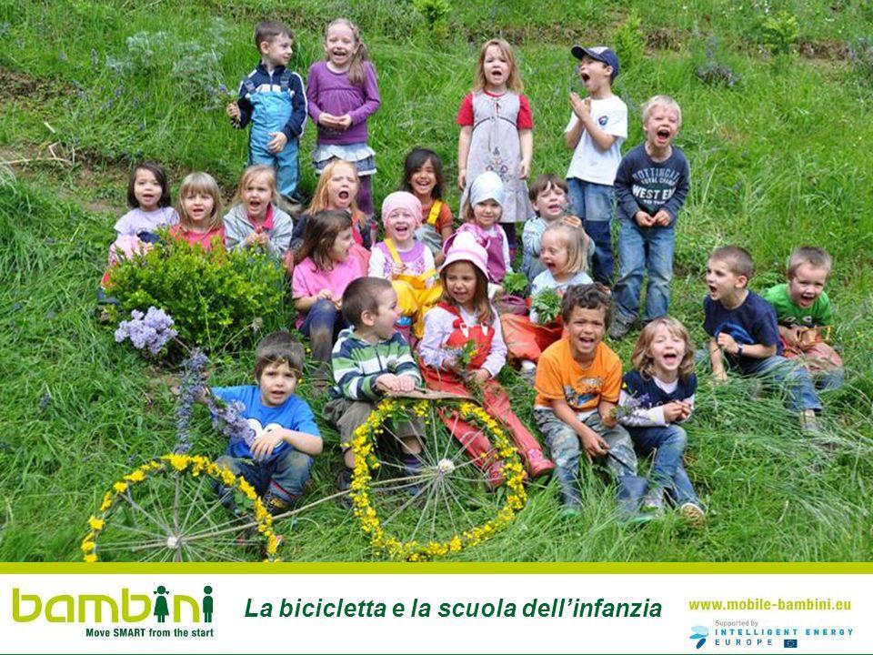 La bicicletta e la scuola dellinfanzia