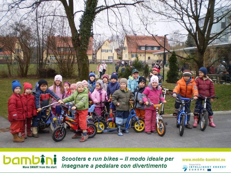 Scooters e run bikes – Il modo ideale per insegnare a pedalare con divertimento