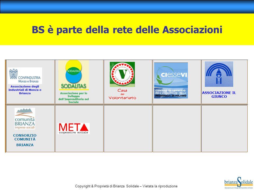 Copyright & Proprietà di Brianza Solidale – Vietata la riproduzione BS è parte della rete delle Associazioni
