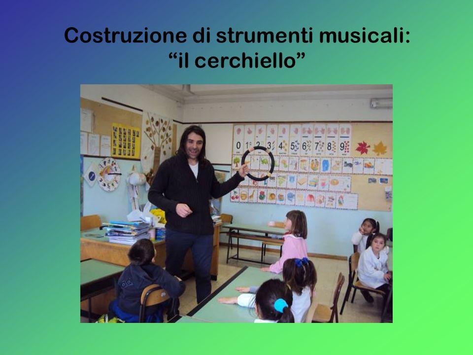 Costruzione di strumenti musicali: il cerchiello