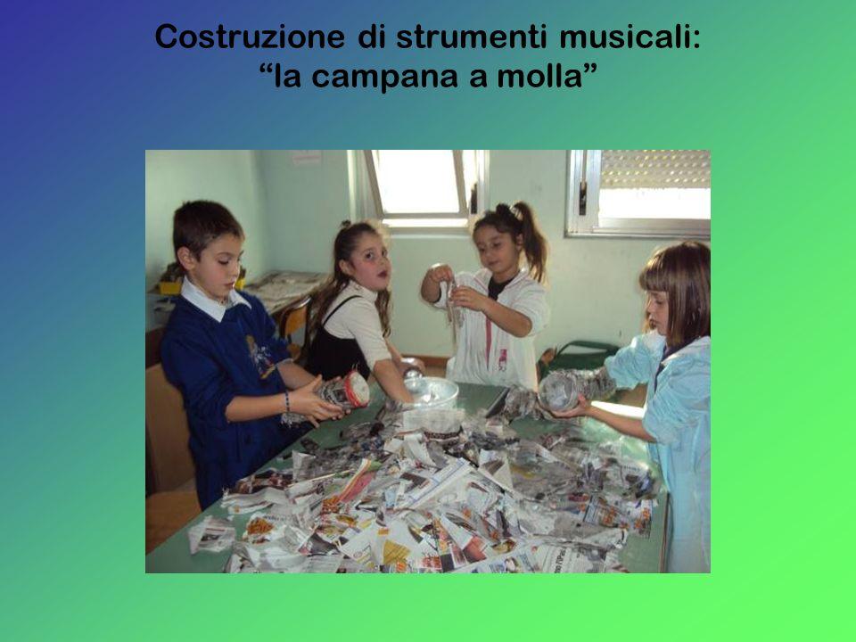 Costruzione di strumenti musicali: la campana a molla