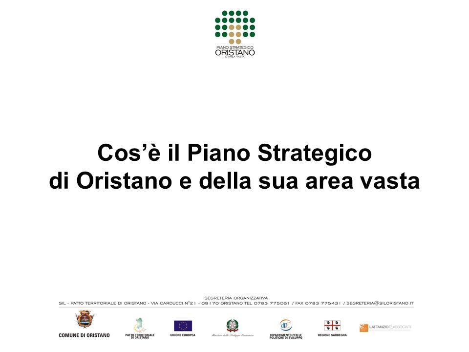Cosè il Piano Strategico di Oristano e della sua area vasta