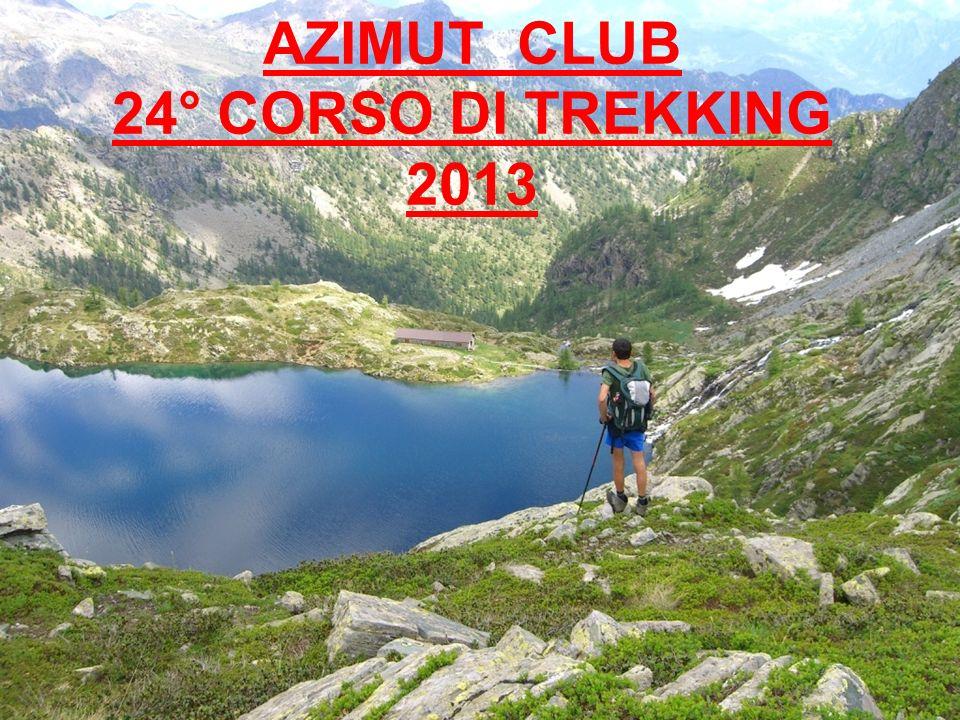 AZIMUT CLUB 24° CORSO DI TREKKING 2013
