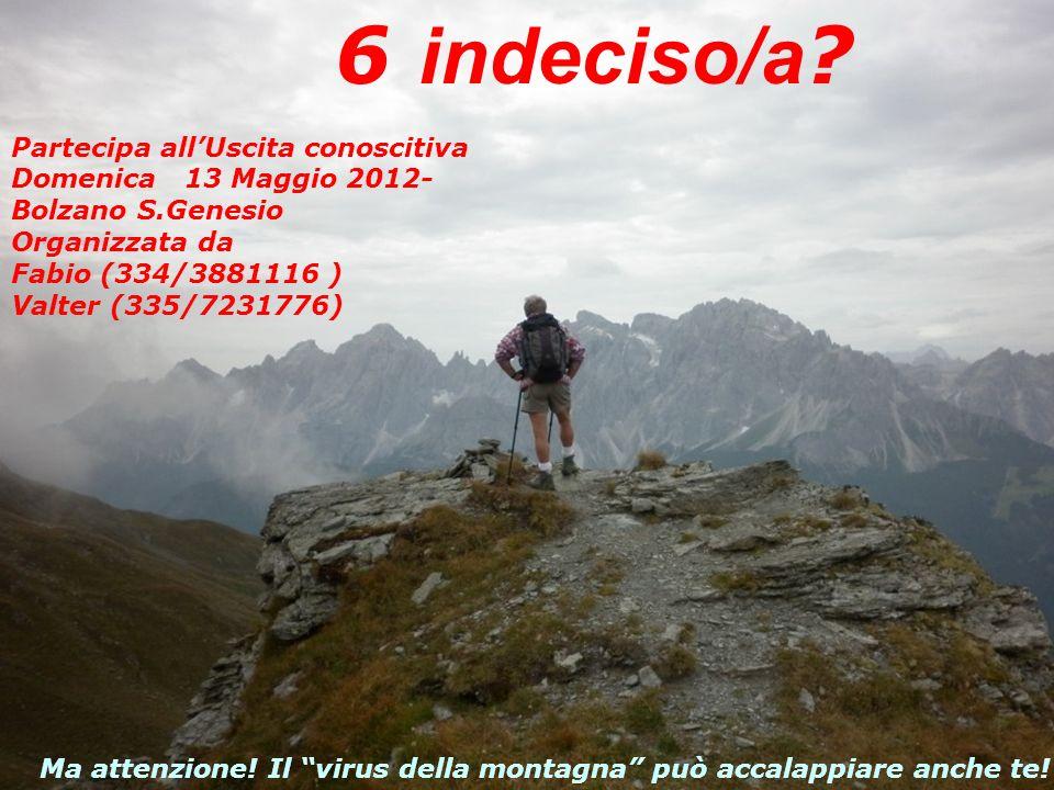 Partecipa allUscita conoscitiva -Domenica 01 Maggio 2011- Appennino… in Osteria!!! Organizzata da Andrea V. (346/7620253) e Gilberto F. (334/3881116)