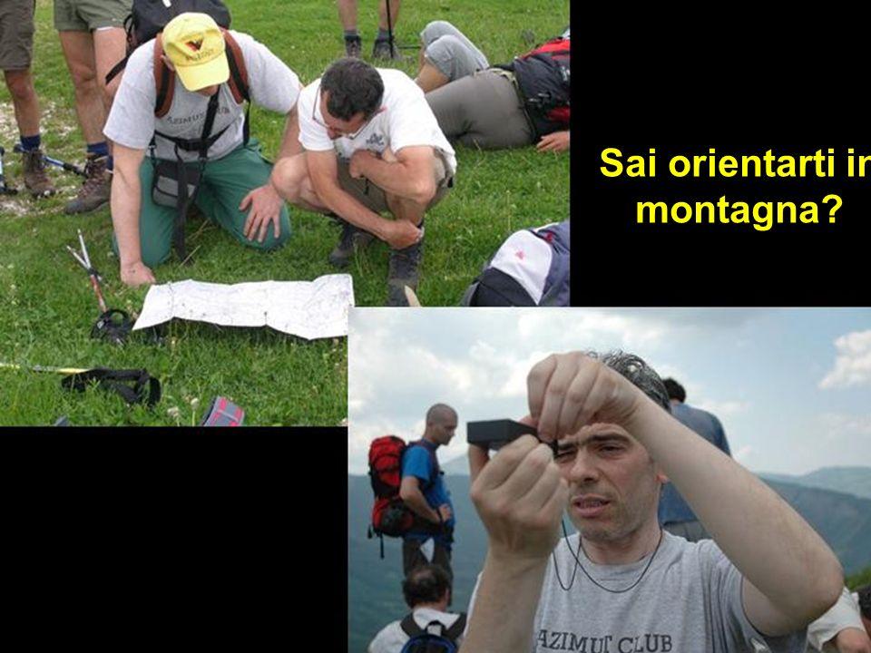 Sai orientarti in montagna?