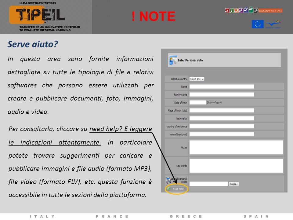 Serve aiuto? In questa area sono fornite informazioni dettagliate su tutte le tipologie di file e relativi softwares che possono essere utilizzati per