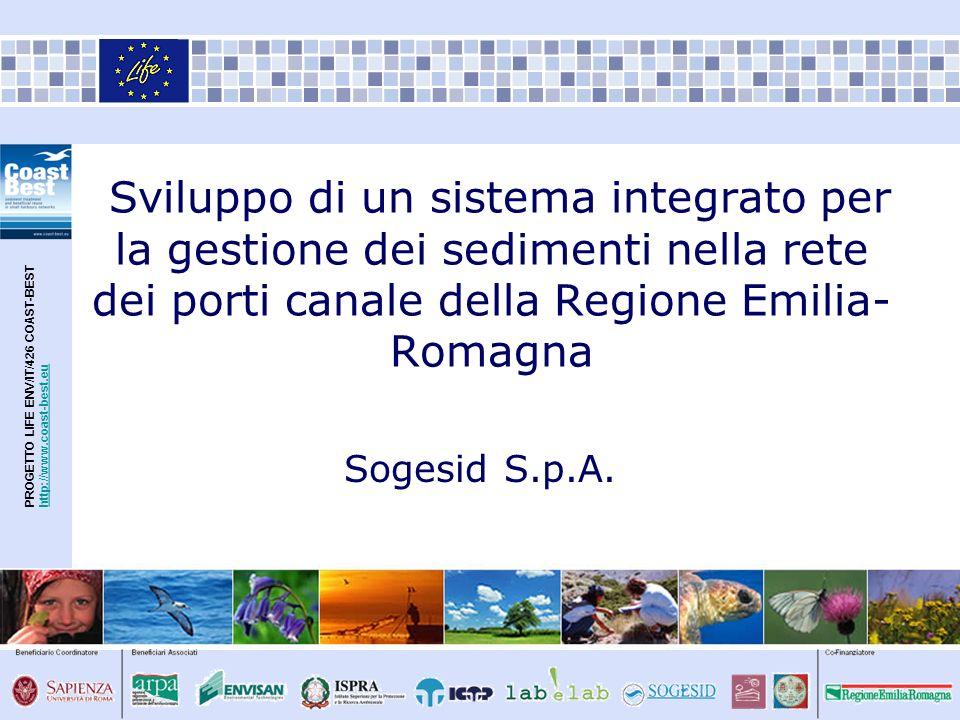 PROGETTO LIFE ENV/IT/426 COAST-BESThttp://www.coast-best.euhttp://www.coast-best.eu Sviluppo di un sistema integrato per la gestione dei sedimenti nel