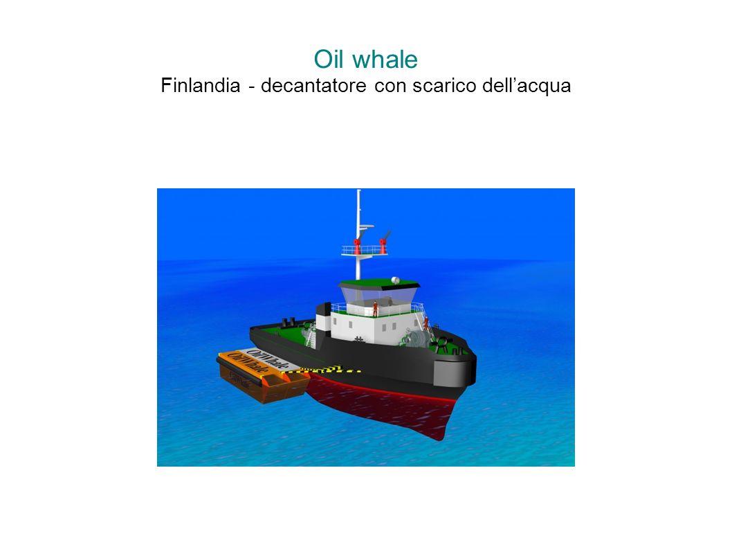 Oil whale Finlandia - decantatore con scarico dellacqua