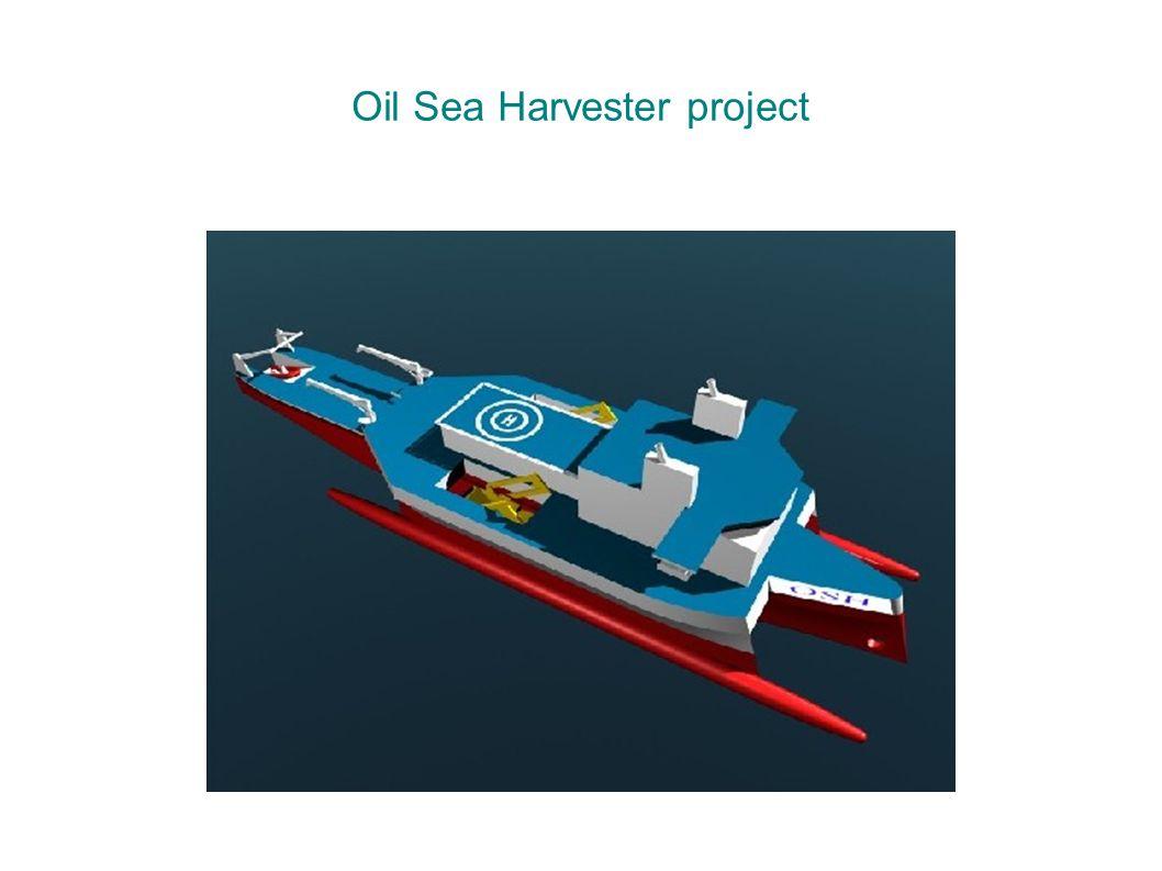 Oil Sea Harvester project