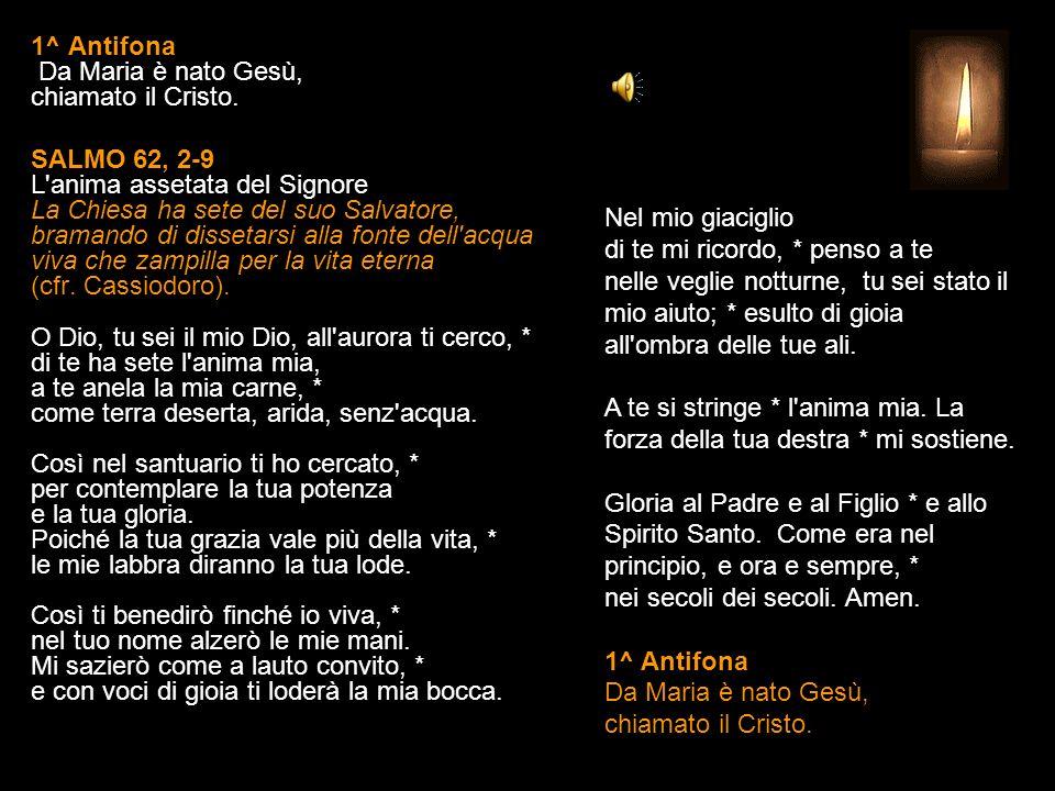 7 OTTOBRE 2013 LUNEDÌ BEATA VERGINE MARIA DEL ROSARIO LODI V. O Dio, vieni a salvarmi. R. Signore, vieni presto in mio aiuto. Gloria al Padre e al Fig