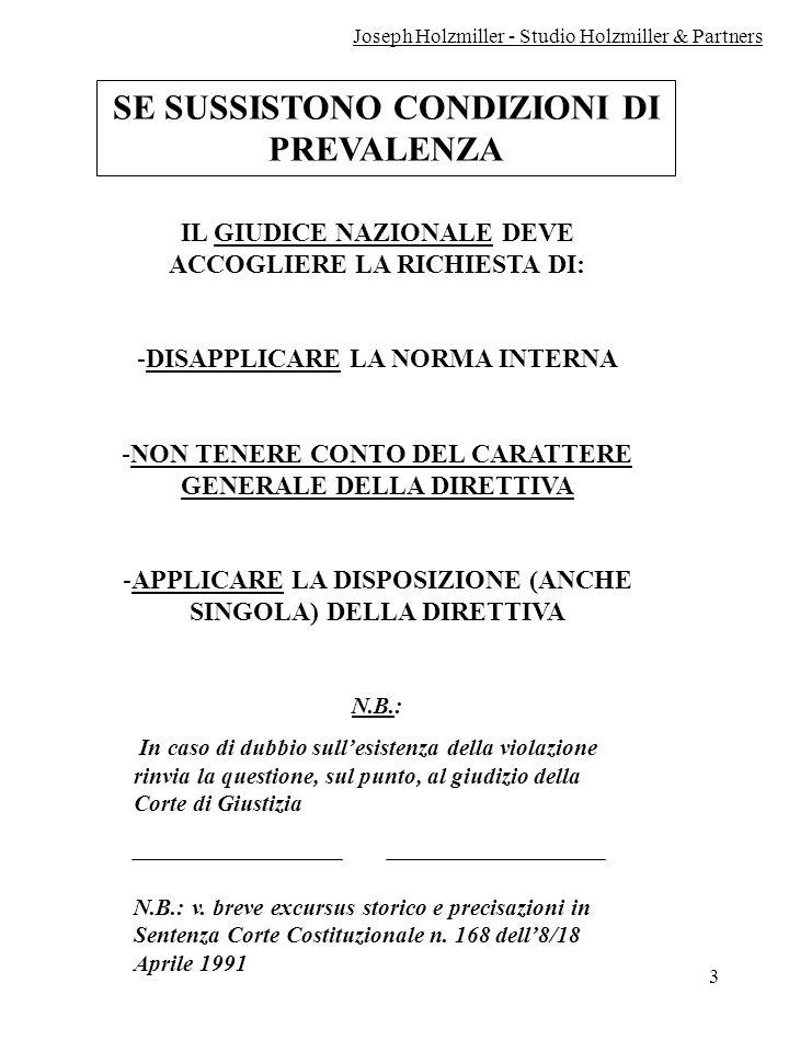 4 LA CORTE DI GIUSTIZIA C.E.