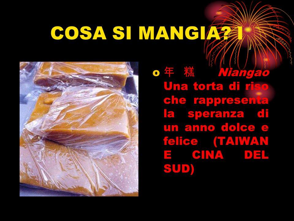 COSA SI MANGIA? I o Niangao Una torta di riso che rappresenta la speranza di un anno dolce e felice (TAIWAN E CINA DEL SUD)