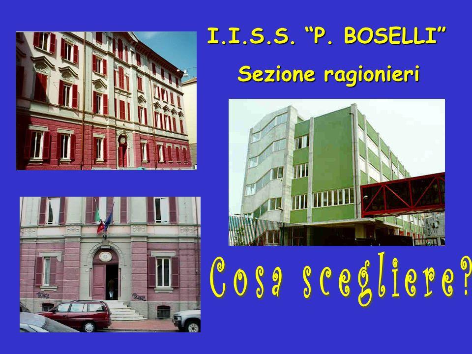 I.I.S.S. P. BOSELLI Sezione ragionieri