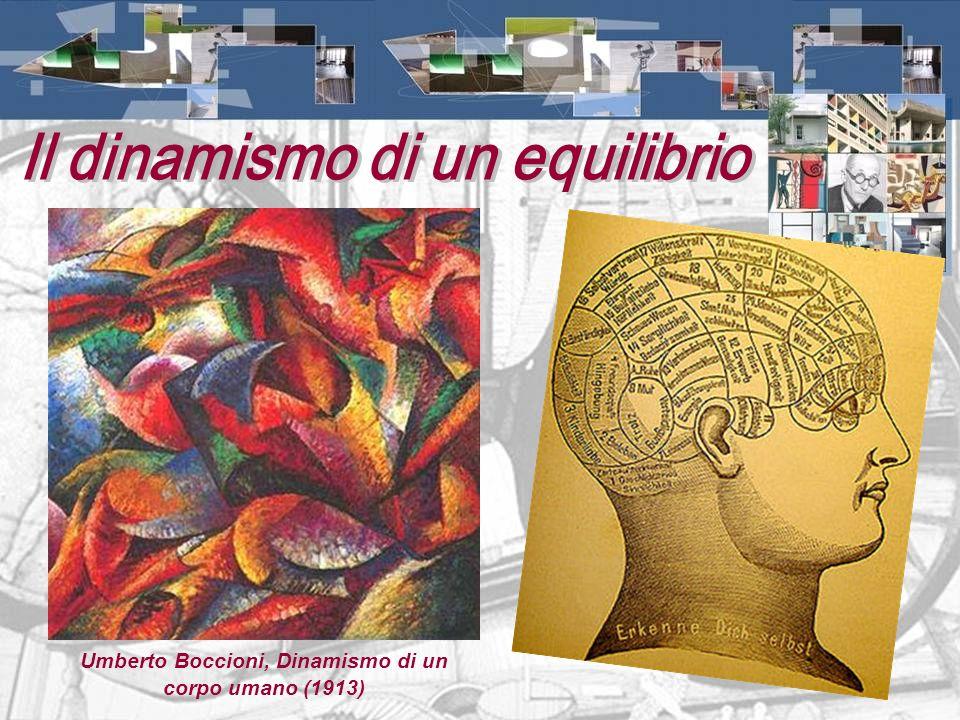 Umberto Boccioni, Dinamismo di un corpo umano (1913)