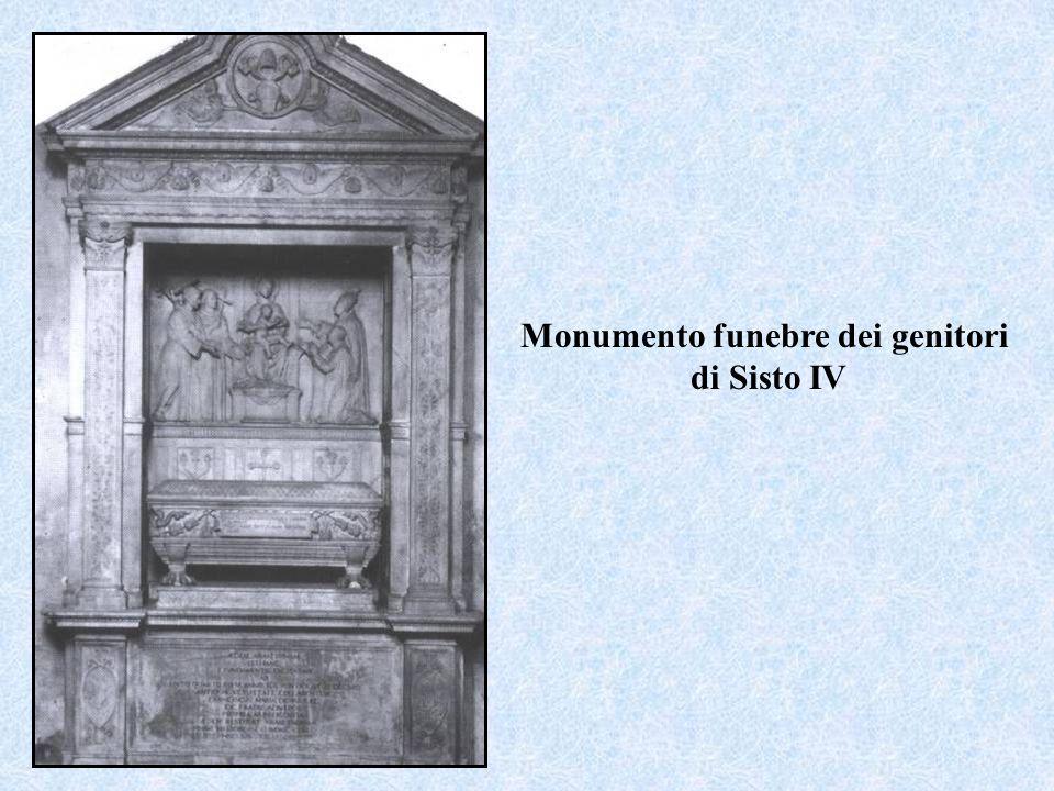 Monumento funebre dei genitori di Sisto IV