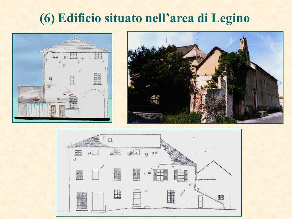 (6) Edificio situato nellarea di Legino