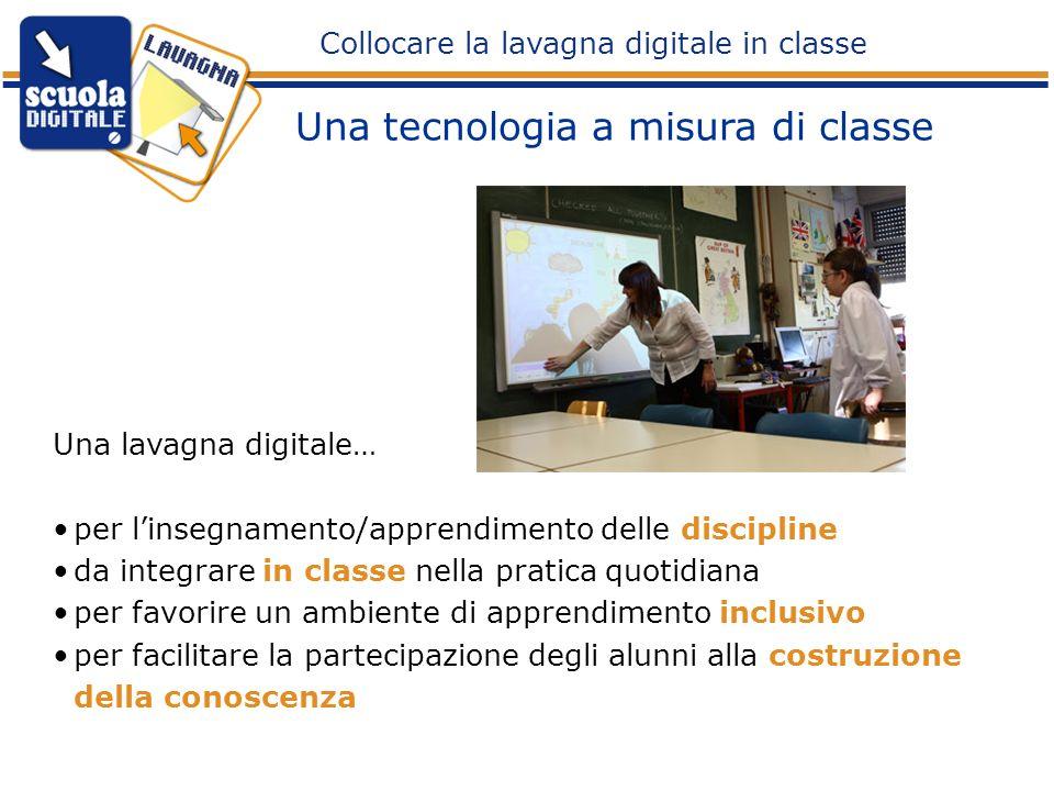 Una lavagna digitale… per linsegnamento/apprendimento delle discipline da integrare in classe nella pratica quotidiana per favorire un ambiente di app