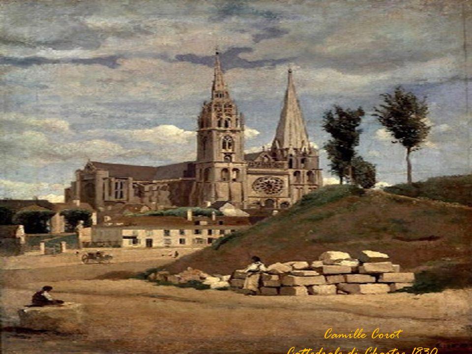 Camille Corot Cattedrale di Chartre 1830