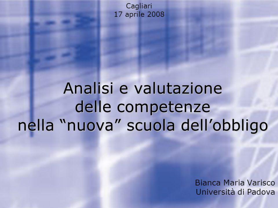 Guidelines per lauto-valutazione Narrazione del processo svolto durante lo svolgimento di una prestazione (valuta.