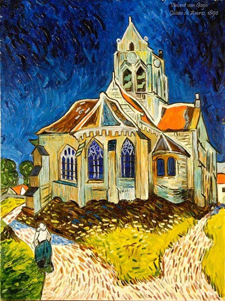 Vincent van Gogh Chiesa de Auvres, 1890