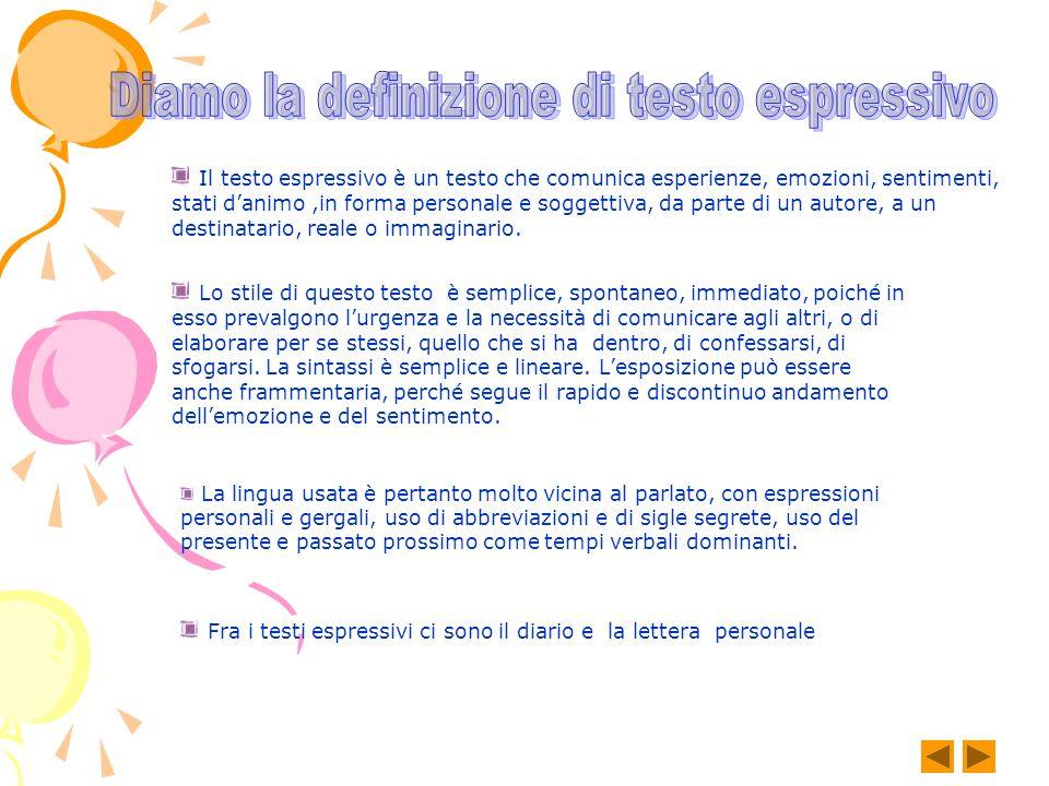 Scrivere un testo rispettando la coesione espressiva Perché questo testo è da considerarsi scorretto.