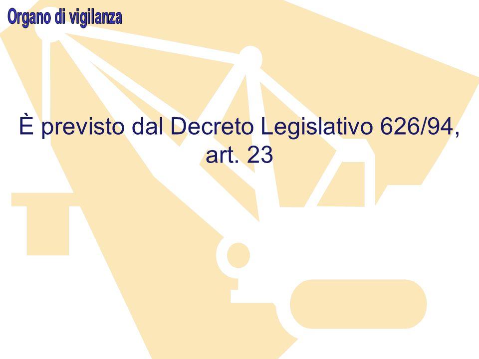 La vigilanza sullapplicazione della legislazione in materia di sicurezza e salute nei luoghi di lavoro è svolta da…..