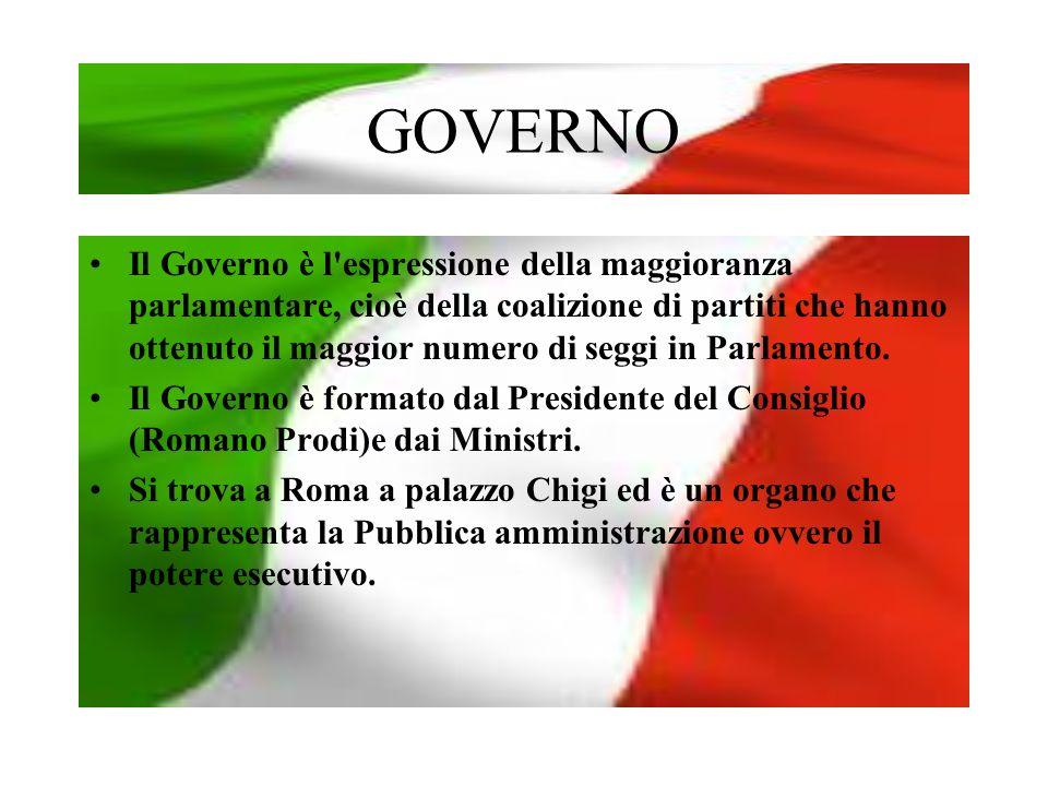 PRESIDENTE DEL CONSIGLIO Il Presidente Romano Prodi è nato a Scandiano (Reggio Emilia) nel 1939.