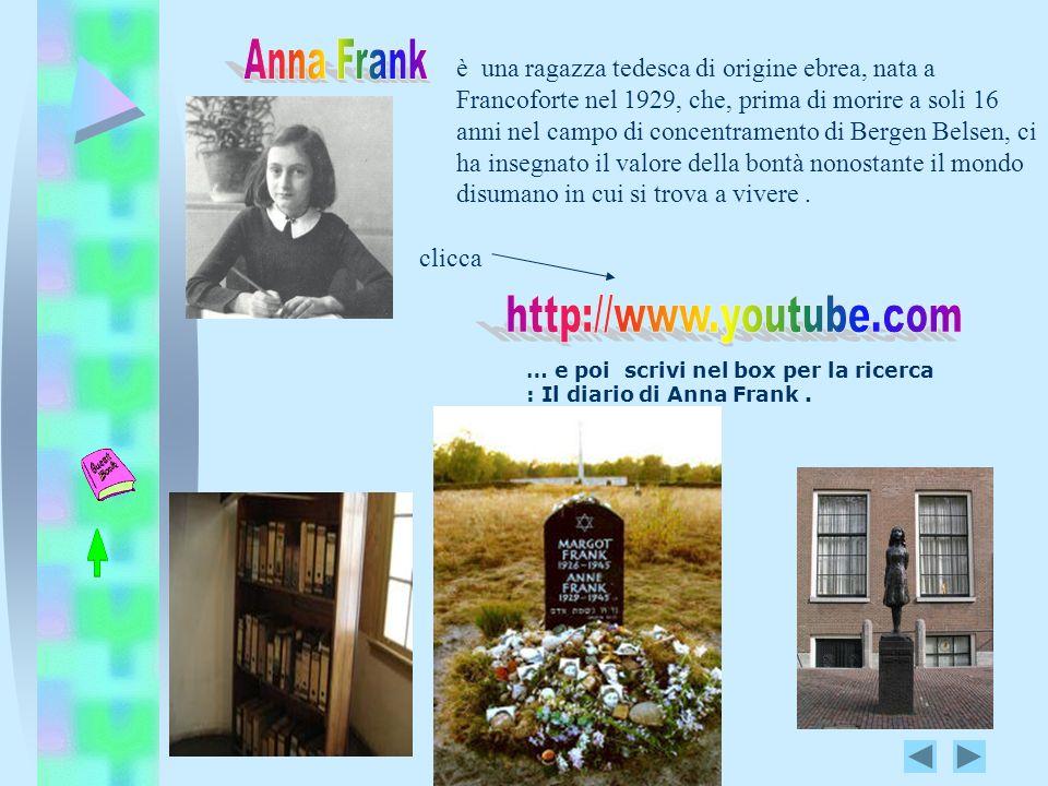 è una ragazza tedesca di origine ebrea, nata a Francoforte nel 1929, che, prima di morire a soli 16 anni nel campo di concentramento di Bergen Belsen,