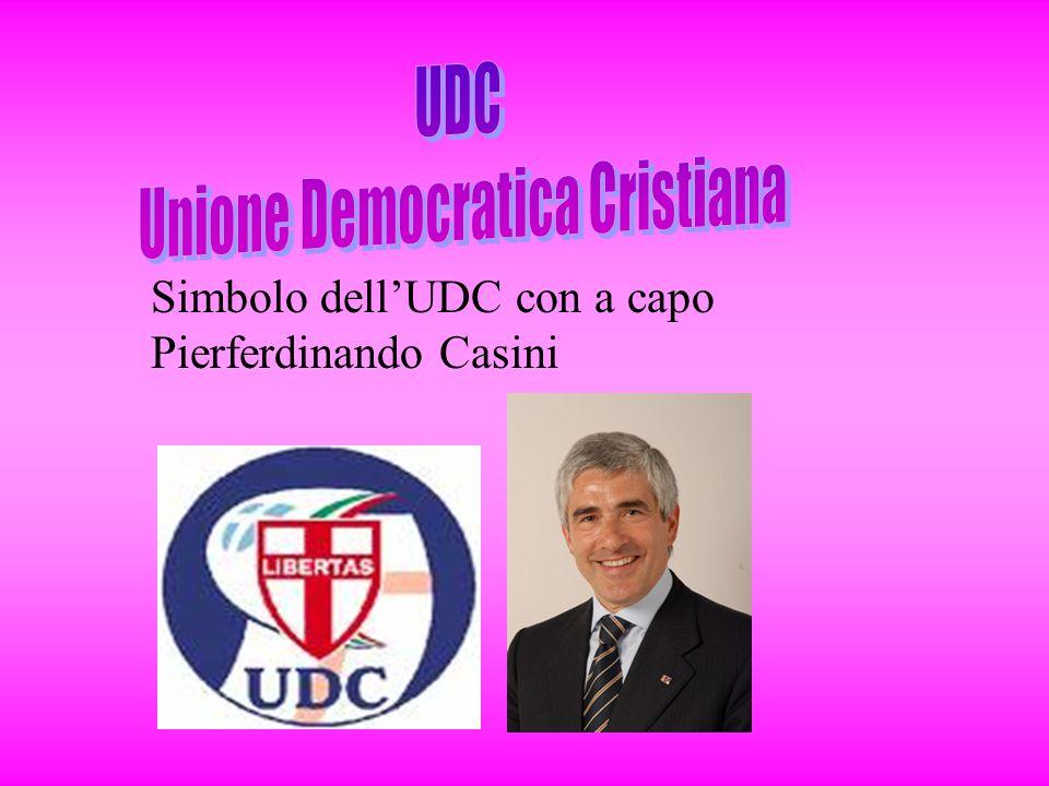 Simbolo dellUDC con a capo Pierferdinando Casini
