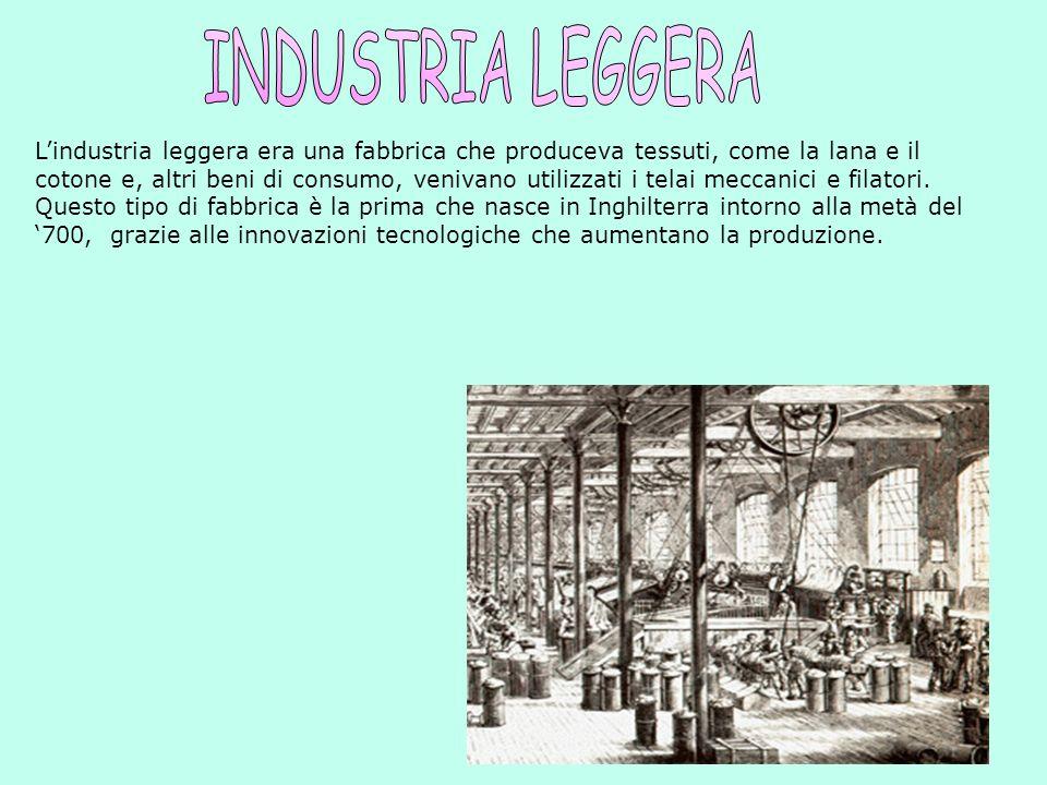 Esistono tre tipi di industrie, che sono: 1.INDUSTRIA LEGGERAINDUSTRIA LEGGERA 2.INDUSTRIA PESANTEINDUSTRIA PESANTE 3.INDUSTRIA ESTRATTIVAINDUSTRIA ES