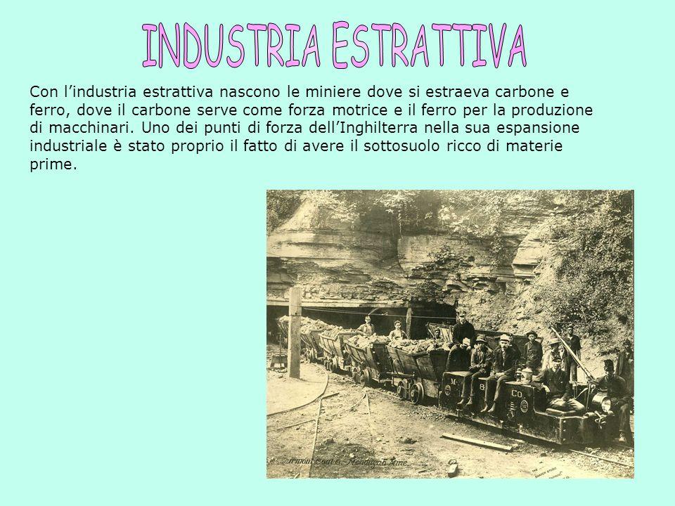 Lindustria pesante si divideva in due parti: 1.Industria metallurgica: che consisteva nella lavorazione di metalli per la produzione di macchinari ind