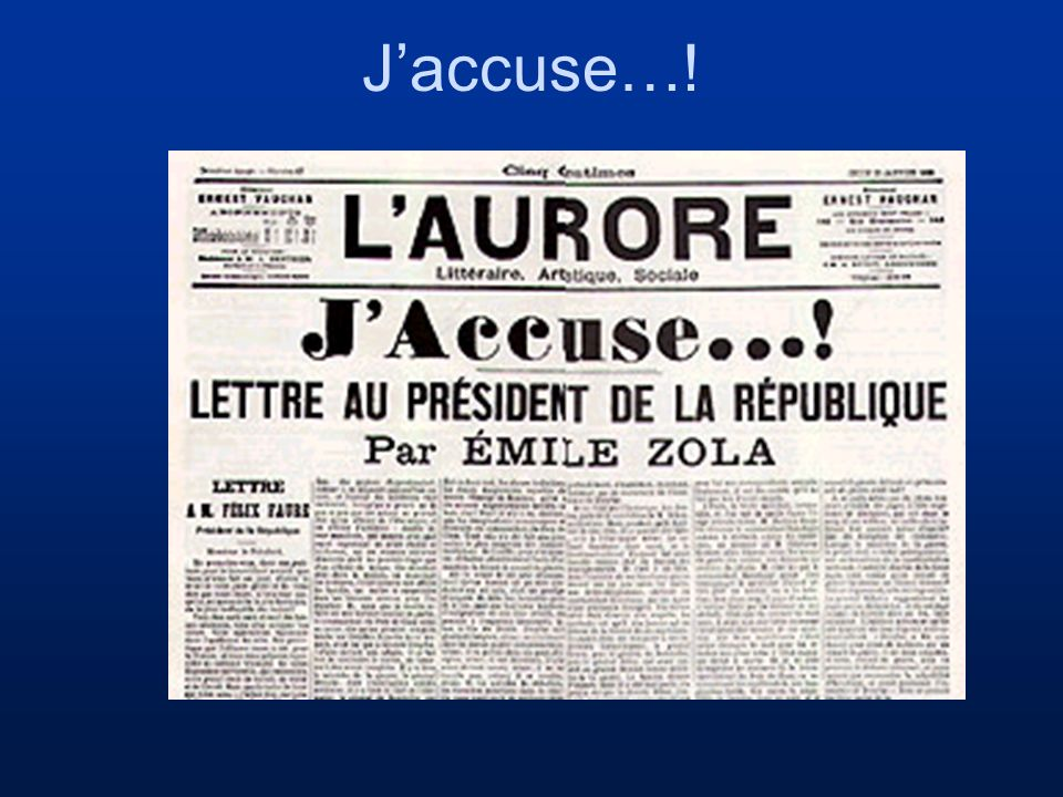 Jaccuse…!