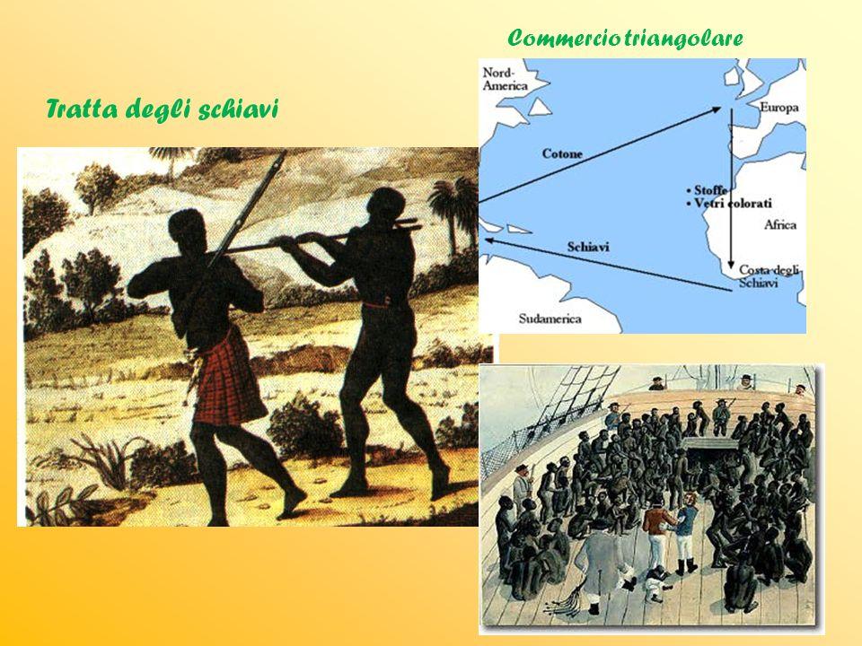 Tratta degli schiavi Commercio triangolare