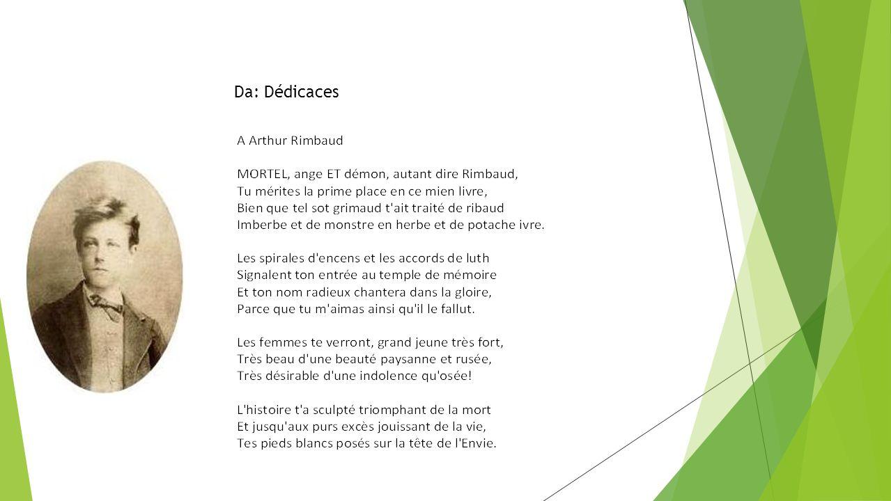 Da: Dédicaces - Traduzione