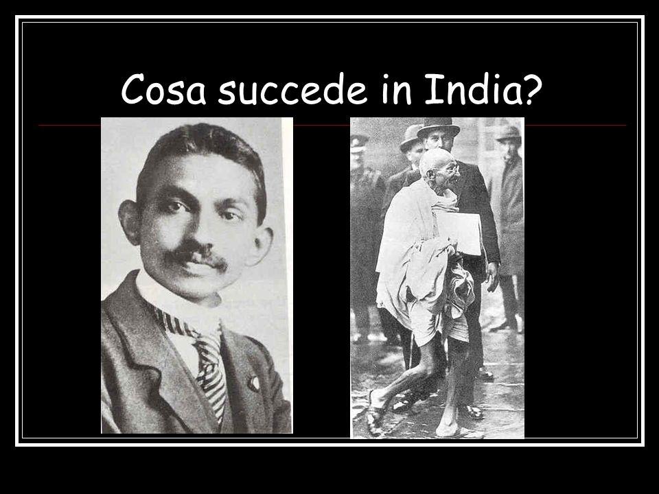 Cosa succede in India?