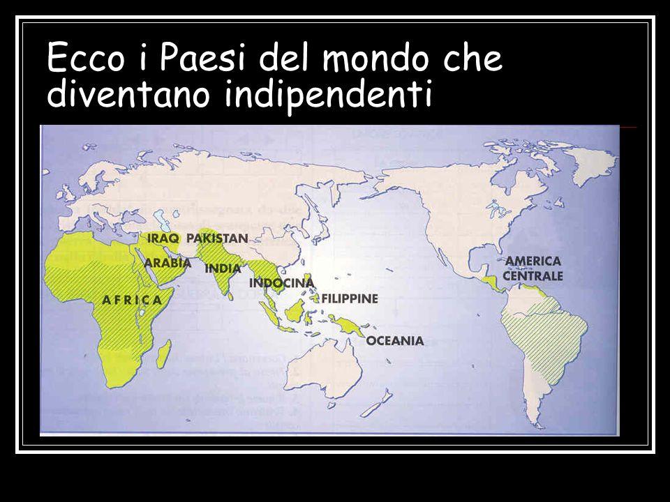 Ecco i Paesi del mondo che diventano indipendenti