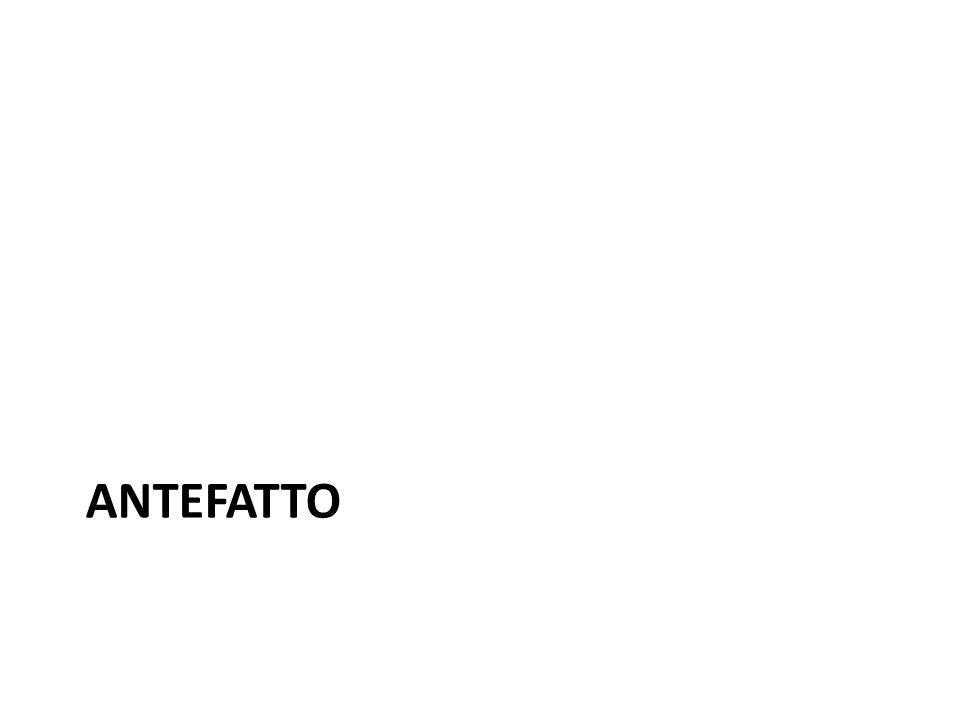 ANTEFATTO