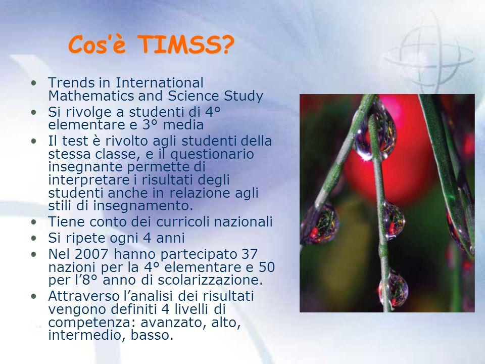 Cosè TIMSS.