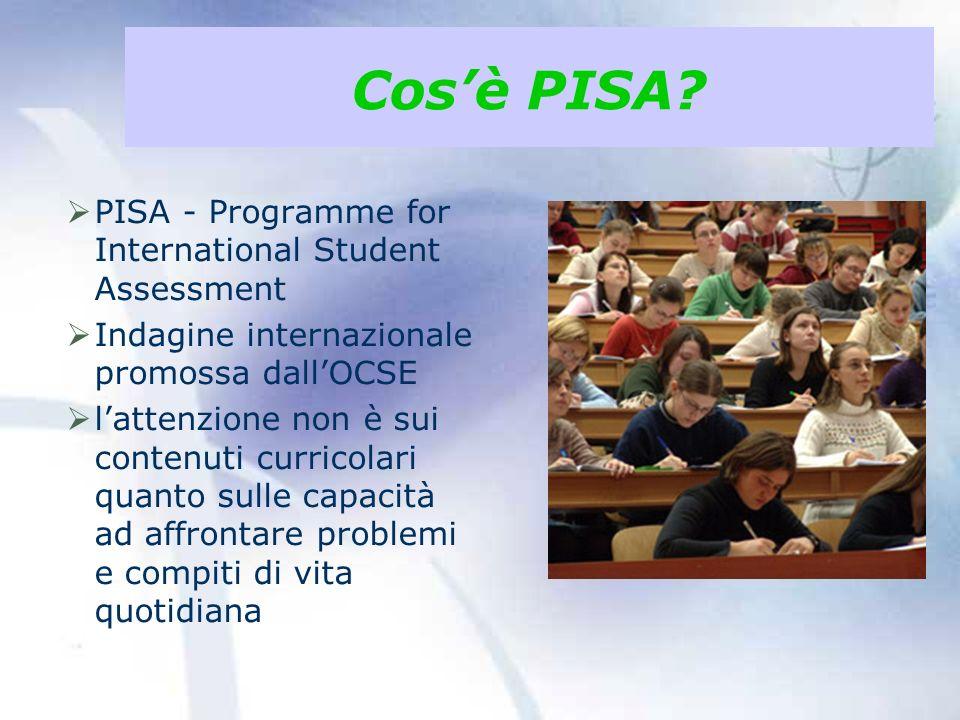 Cosè PISA.