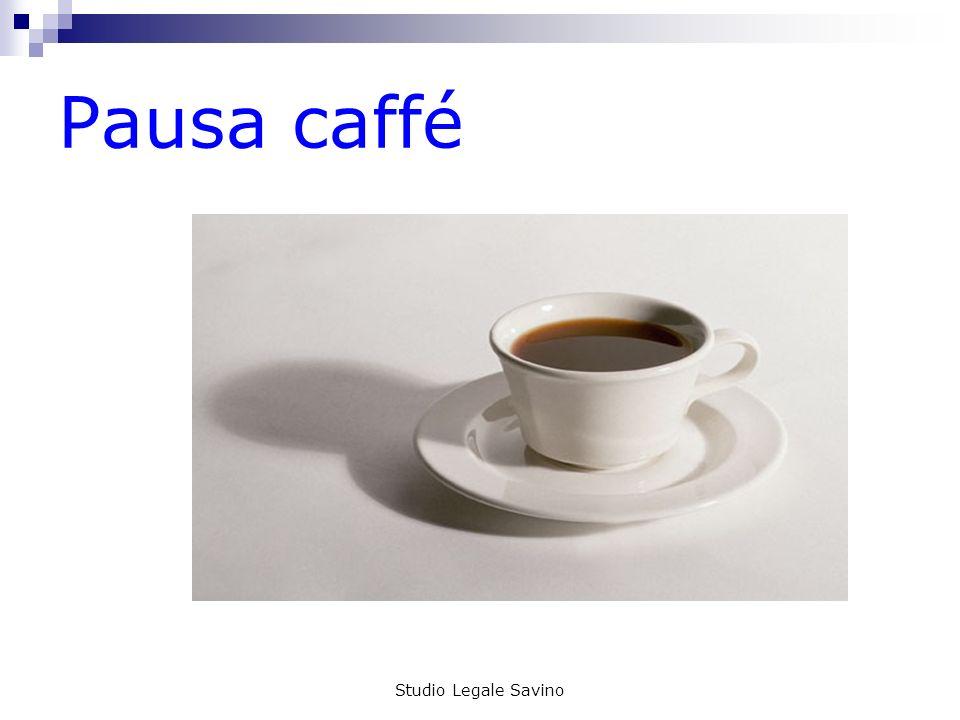 Studio Legale Savino Pausa caffé
