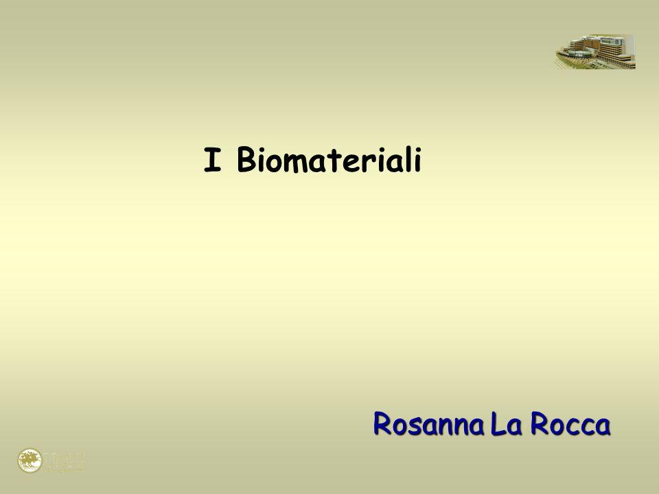 La Scienza dei biomateriali studia le interazioni tra materiali viventi e non viventi.